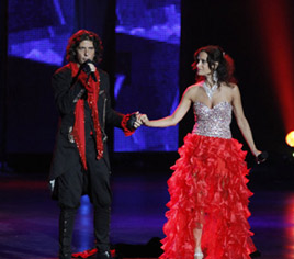 Aramand and Angelina on America's Got Talent - 2011