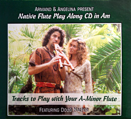 Native Flute Play Along CD in A-Minor